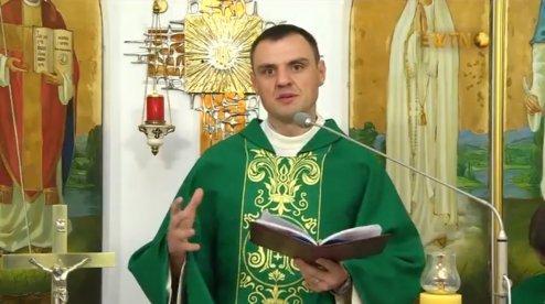 Проповідь о. Олександра Зелінського ОМІ, 28.11.17