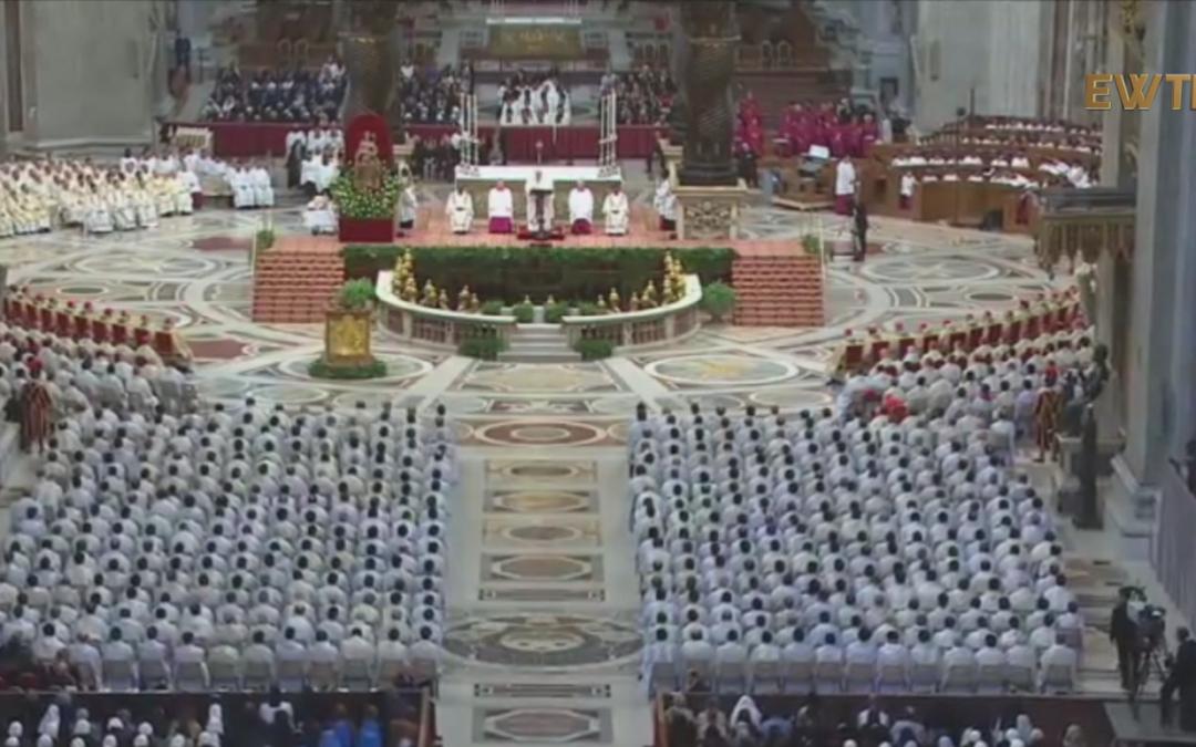 Проповідь Папи Франциска під час Святої Меси з посвяченням мира у Великий Четвер, Ватикан, 29 березня 2018