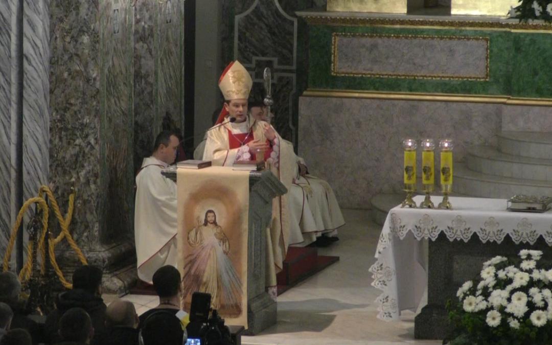 Проповідь єпископа Віталія Кривицького під час Святої Меси Господньої Вечері, 29 березня 2018