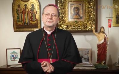 Привітання Пасхальне Архієпископа Клаудіо Ґуджеротті, Апостольського Нунція в Україні