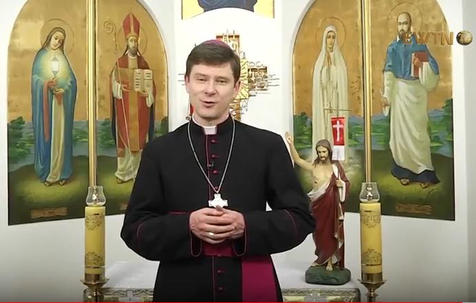 Привітання Пасхальне Єпископа Віталія Кривицького SDB