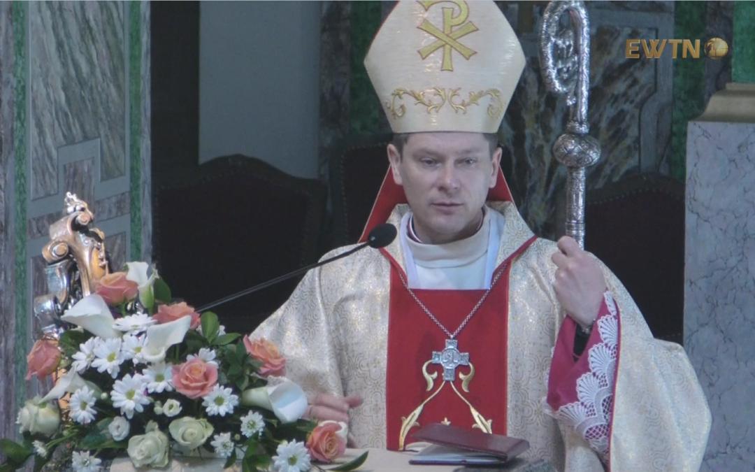 Проповідь єпископа Віталія Кривицького під час Святої Меси в неділю Доброго Пастиря, 22 квітня 2018