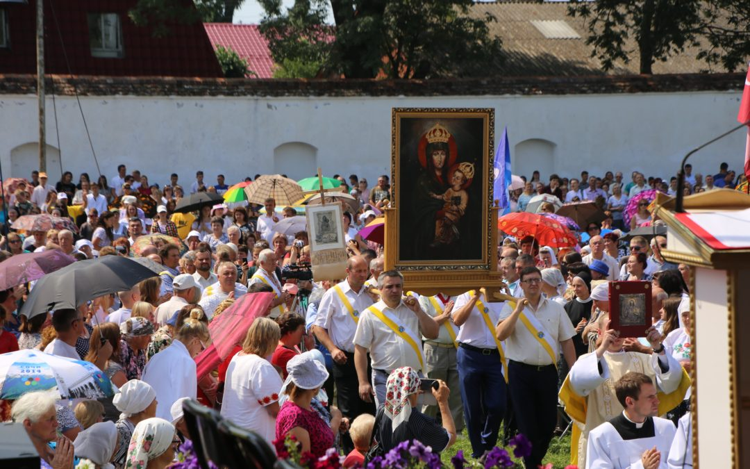 Паломництво до Матері Божої у Летичів 2018 року
