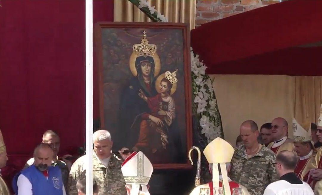 Центральні урочистості у Всеукраїнському Санктуарії Матерії Божої Святого Скапулярію в Бердичеві, 22 липня 2018