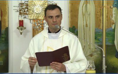 Проповідь о. Олександра Зелінського ОМІ, 31 липня 2018