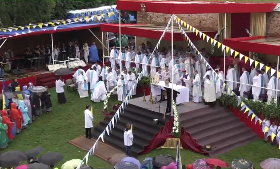 Свята Меса у вігілію урочистості Матері Божої Святого Скапулярія в Бердичеві, 21 липня 2018