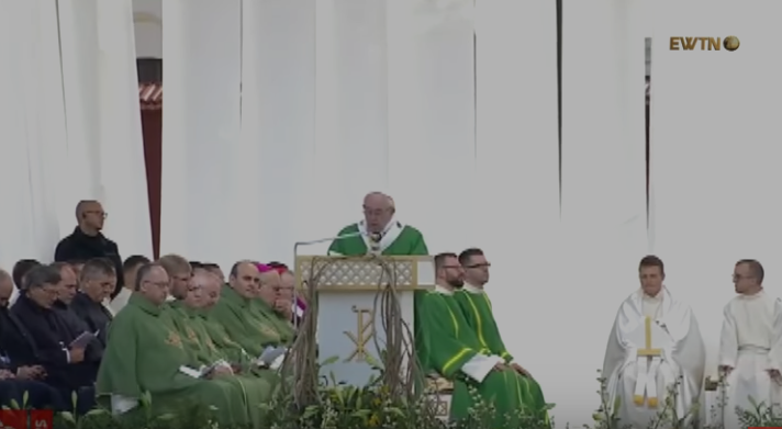 Проповідь Папи Франциска під час Святої Меси в Каунасі,  23 вересня 2018