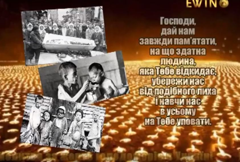 Молитва за жертв Голодоморів в Україні