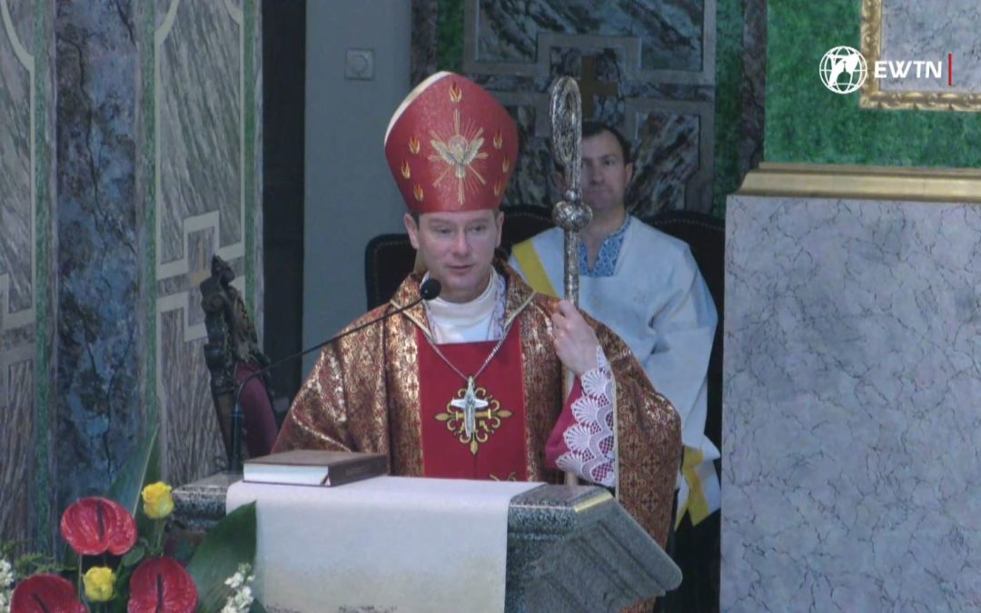 Проповідь єпископа Віталія Кривицького під час Святої Меси з уділенням Таїнства Миропомазання, 9 червня 2019