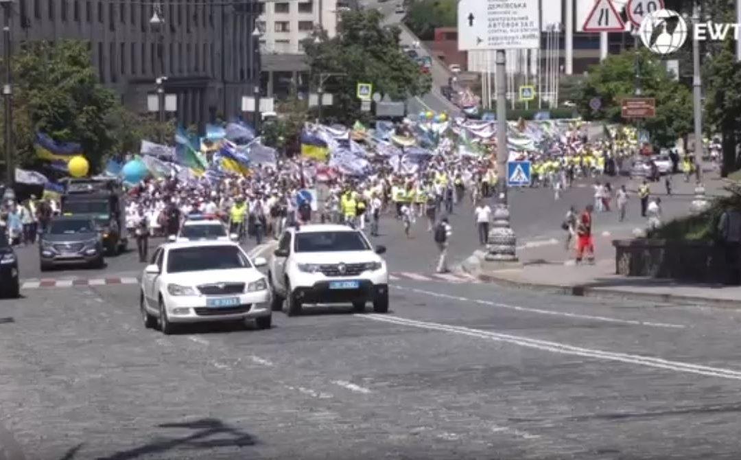 """8 червня відбулась Всеукраїнська хода на захист прав дітей та сімей """" Сім'я – серце України"""""""