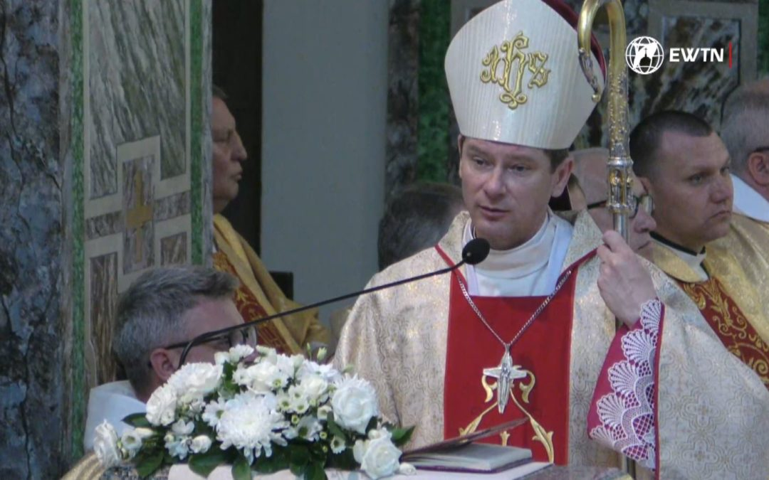 Проповідь єпископа Віталія Кривицького в Урочистість Пресвятих Тіла і Крові Христових, 23 червня 2019