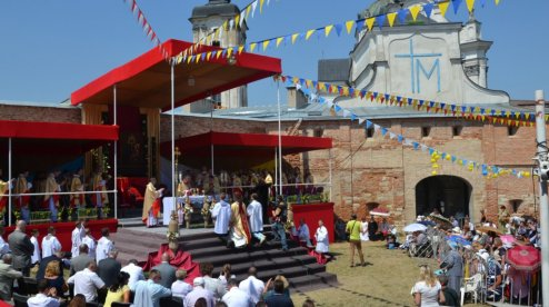 Католицьке Телебачення Віковічного Слова EWTN транслюватиме урочистості з санктуарію Матері Божої святого скапулярію в Бердичеві